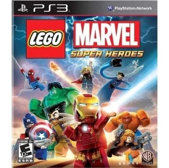 Lego Marvel Original Psn Ps3 Envio Rápido Promoção