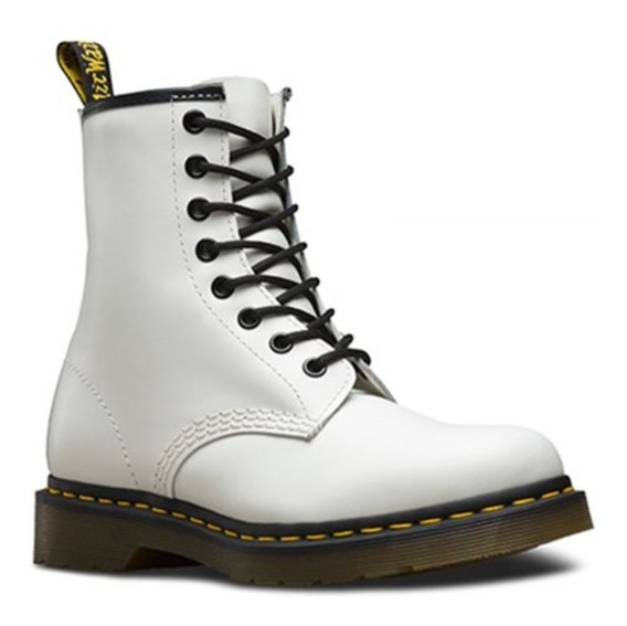 Botas Dr Martens 1460 W Smooth White