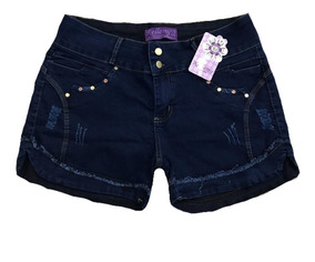 Short Jeans Feminino Plus Size 44 Ao 58