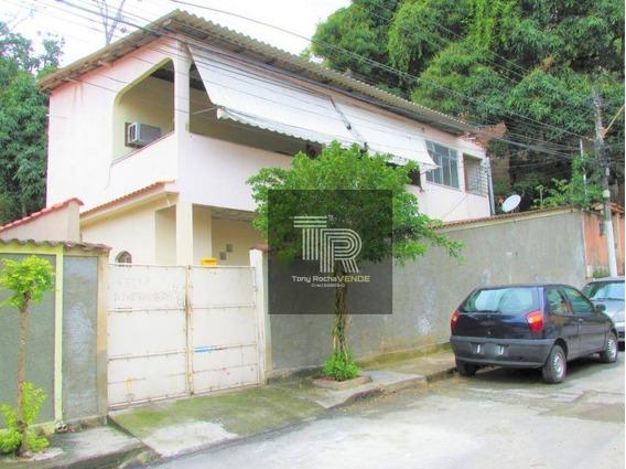 2 Casas Com Quintal E Garagem - Fonseca - Ca0056