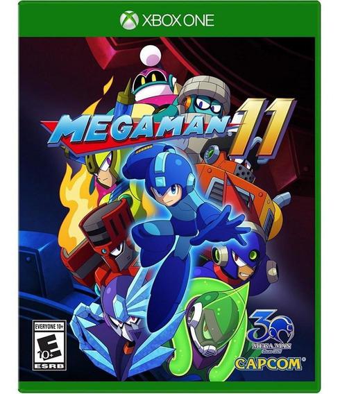 Mega Man 11 Xbox One Mídia Física Novo Original Lacrado
