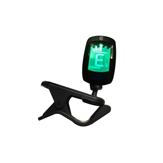 Afinador Cromático Digital Custom Sound Cs 3 Preto