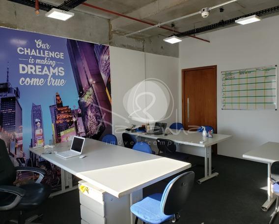 Sala Dupla Para Venda No Easy Office, Vila Itapura Em Campinas - Imobiliária Em Campinas - Sa00215 - 68128769