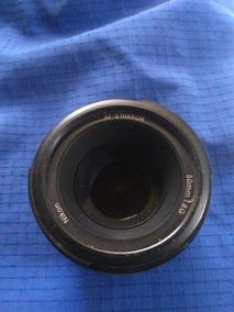 Lente 50mm 1.8g Nikon Usada