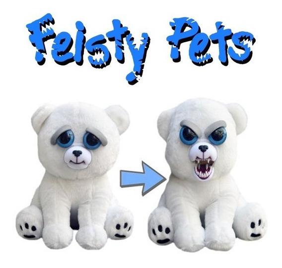 Pelúcia Feisty Pets Urso Polar - William Mark Corporation