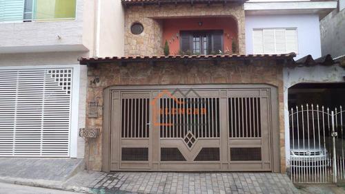 Imagem 1 de 30 de Sobrado Com 3 Dormitórios À Venda, 226 M² Por R$ 509.000,00 - Jardim Planalto - São Paulo/sp - So0493