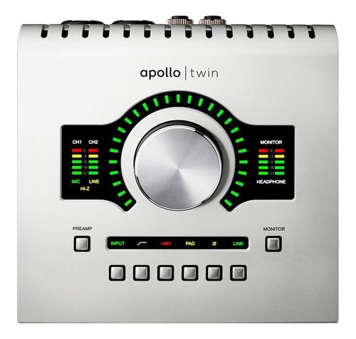 Imagen 1 de 3 de Interfaz Universal Audio Apollo Twin Usb Realtime Uad