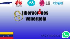 Liberaciones Android Samsung Lg Huawei Zte Alcatel