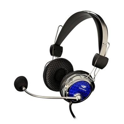 Fone De Ouvido Gamer C3tech Pterodax Com Microfone