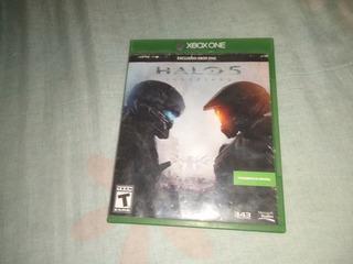 Xbox One Muy Buen Estado +1control Y Juego Halo 5