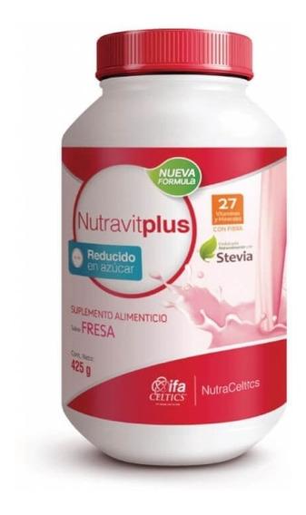 Nutravitplus Fresa 425 Gr + Coaching Nutricional Gratis