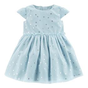Vestido Tule Azul Piscina Carters 3 Meses Festa Casamento