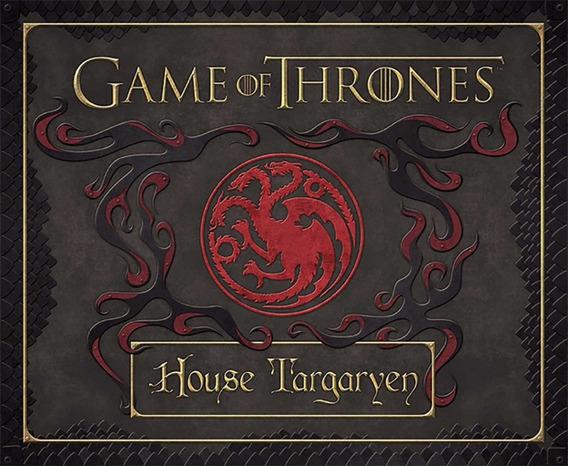 Game Of Thrones Targaryen Set Libreta Diario Sello Deluxe