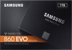Ssd Samsung 860 Evo 1tb Novo/lacrado A Pronta Entrega