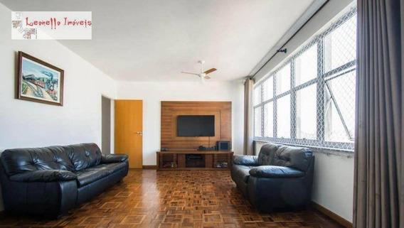 Apartamento À Venda, 136 M², 3 Dorm E 1 Suíte - Centro - Santo André/sp - Ap0430