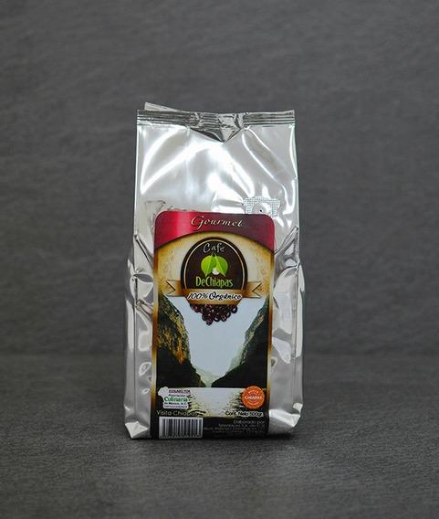 Café Organico De Chiapas Gourmet 500g Molido O En Grano