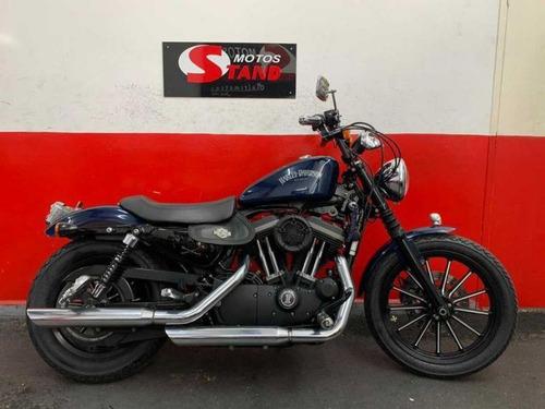 Harley Davidson Sportster Xl 883 N Iron 2012 Azul