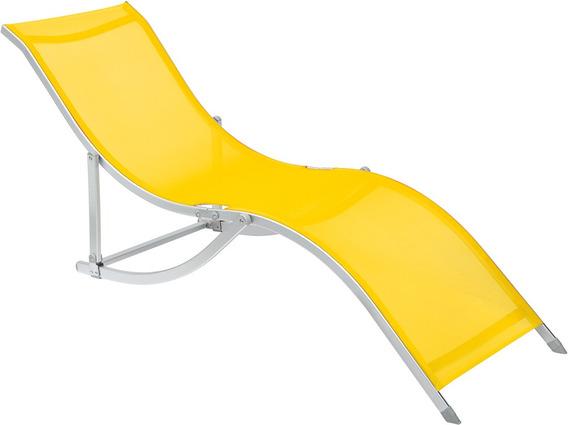 Cadeira Espreguiçadeira S Alumínio Bel Lazer