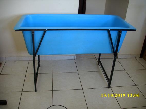 Banheira Grande Banho E Tosa C/ Degrau Petshop Grátis Ducha
