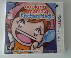 Jogo Cartucho Nintendo 3ds Kitchen Magic Seminovo