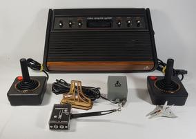 Console Atari 2600 Heavy Sixer Sunnyvalle S/n. 007524 Zerado