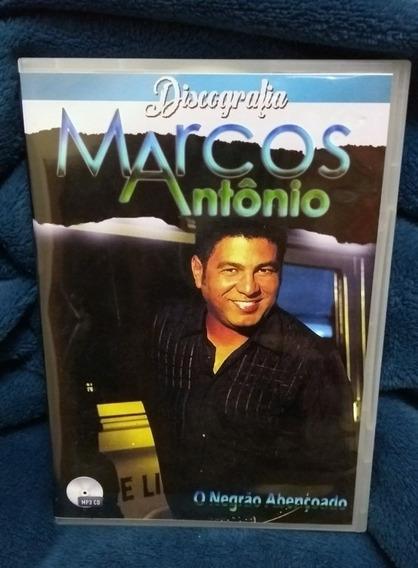 Marcos Antônio - Discografia Autorada - Em 4 Cds - 41 Álbuns