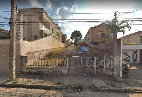 Imagem 1 de 1 de Terreno À Venda, 400 M² Por R$ 855.000,00 - Chácara Mafalda - São Paulo/sp - Te0061
