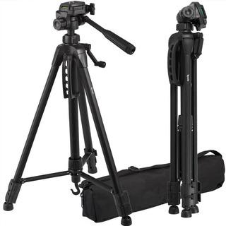 Trípode De Camara O Video 1.65mts Soporta 3kg P/canon Nikon