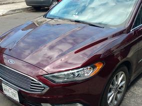 Ford Fusion Se Lux Híbrido Color Vino Tinto