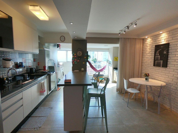 Apartamento Em Bosque Da Saúde, São Paulo/sp De 68m² 2 Quartos À Venda Por R$ 550.000,00 - Ap252824