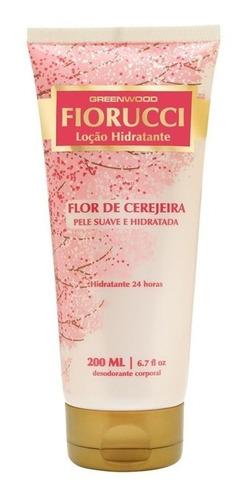 Imagem 1 de 1 de Loção Hidratante Fiorucci 200 Ml Flor De Cerejeira