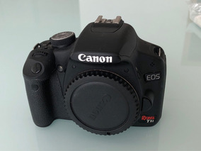 Câmera Canon T1i Com 2 Lentes, Bateria Extra E Sd Card 16gb