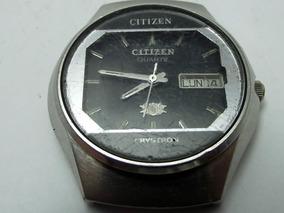 Sucata Citizen Quartz Antigo Cronografo
