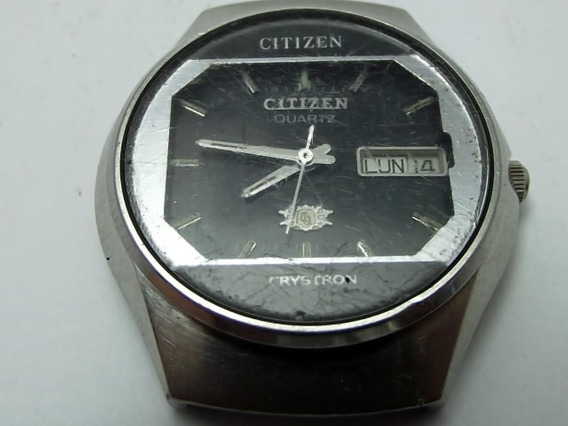 Sucata Citizen Quartz Antigo Cronografo