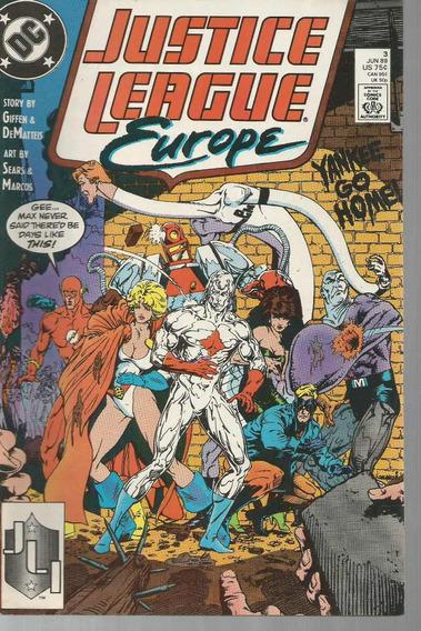 Justice League Europe 3 - Dc 03 - Bonellihq Cx164 K19