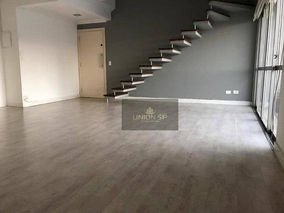 Cobertura Com 4 Dormitórios Para Alugar, 230 M² Por R$ 6.500,00 - Campo Belo - São Paulo/sp - Co1577