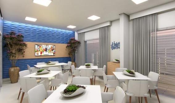 Apartamento Em Centro, Itanhaém/sp De 64m² 2 Quartos À Venda Por R$ 353.485,00 - Ap436124