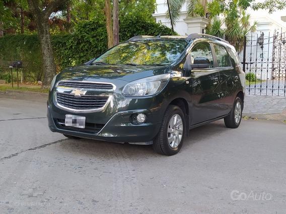 Chevrolet Spin 1.8 Ltz 5 Asientos Gnc 2013 Verde Full