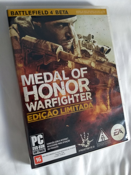 Dvd Medal Of Honor Warfighter Para Pc