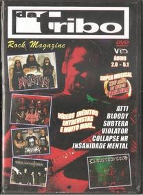 Dvd Da Tribo - Rock Magazine -c/ Claustrophobia Abhorrence