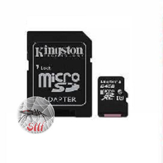 Memoria Kingston Micro Sdxc 64gb Uhs-i Clase 10 C/adaptador