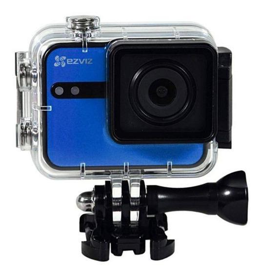 Câmera De Ação Filmadora Ezviz S1c Full Hd Bluetooth