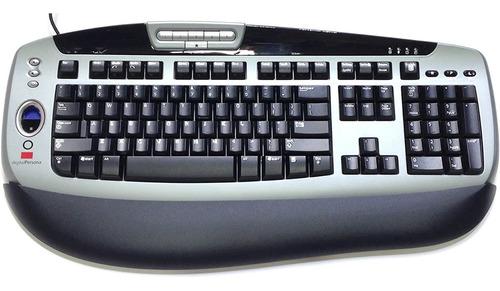 Imagem 1 de 1 de Teclado Com Leitor Digital Persona U4500  Embutido Pradao Us