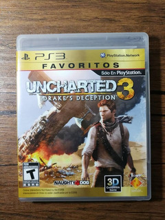 Uncharted 3 Drakes Deception Playstation 3 Ps3 !!