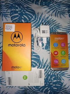 Celular Motorola E5 Play Dorado Nuevo
