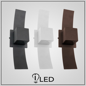 Arandela Box Slim Luz Indireta Lampada G9 Led Nao Inclusa