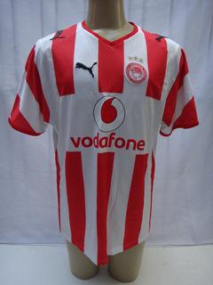 Camisa De Futebol Olympiacos Da Grécia 2008/09 Puma Dt10