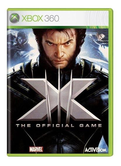 Xmen The Official Game Xbox 360 Mídia Física Pronta Entrega
