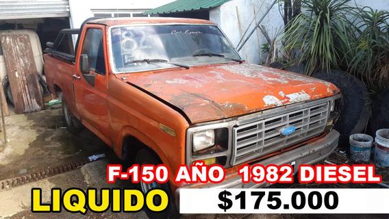 Ford F150 Año 1982 Diesel, Perkins 4