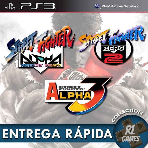 Ps3 - Street Fighter Alpha Collection